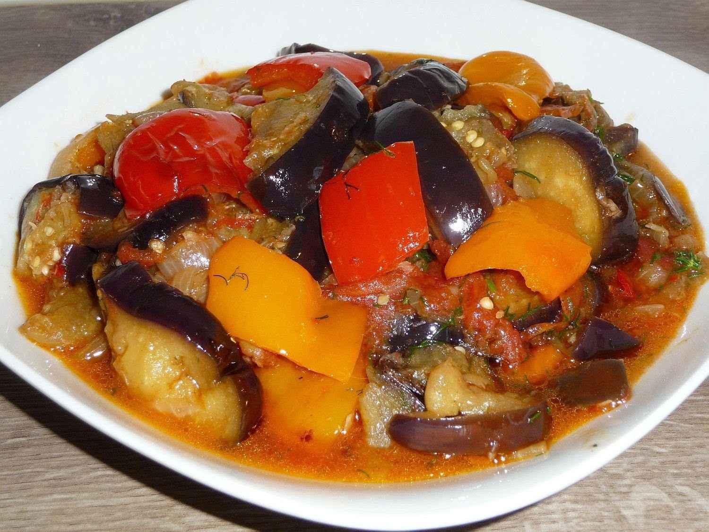 Рецепт баклажан с острым перцем