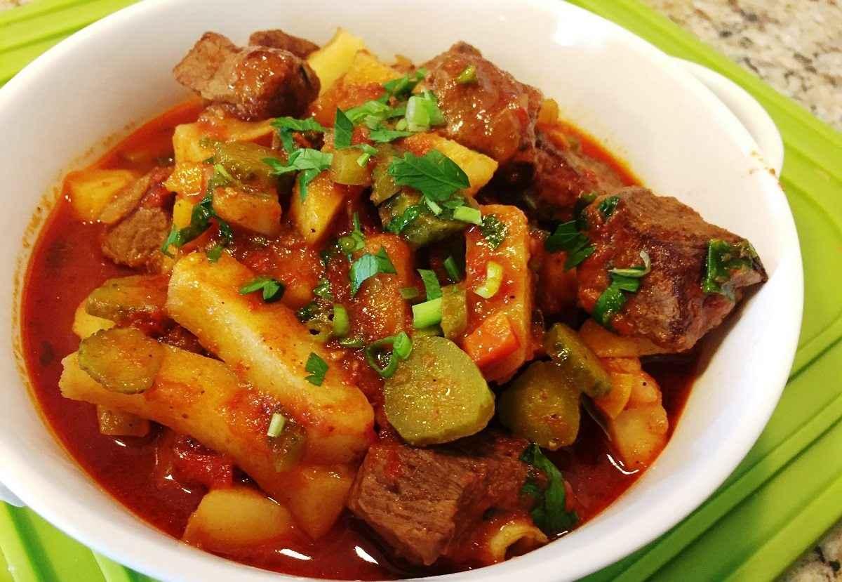 азу с говядиной по татарски пошаговый рецепт с фото